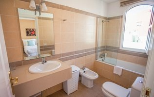 Baño  Coral Los Silos - Your Natural Accommodation Choice